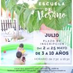ESCUELA DE VERANO JULIO
