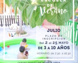 ABIERTO PLAZO DE INSCRIPCIÓN (ESCUELA DE VERANO JULIO)
