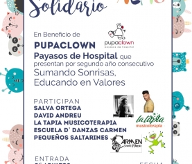 II CONCIERTO SOLIDARIO a beneficio de PUPACLOWN payasos de hospital (17 de marzo)